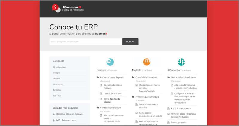 Nuevo portal de formación para nuestros clientes